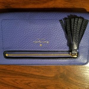 NWOT CHESTER KATE SPADE LILAC COLOR LONG WALLET